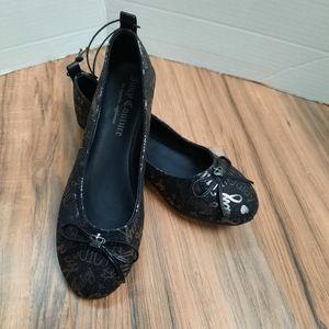 Juicy Couture Size 3 Van Ness Black Ballet Shoe